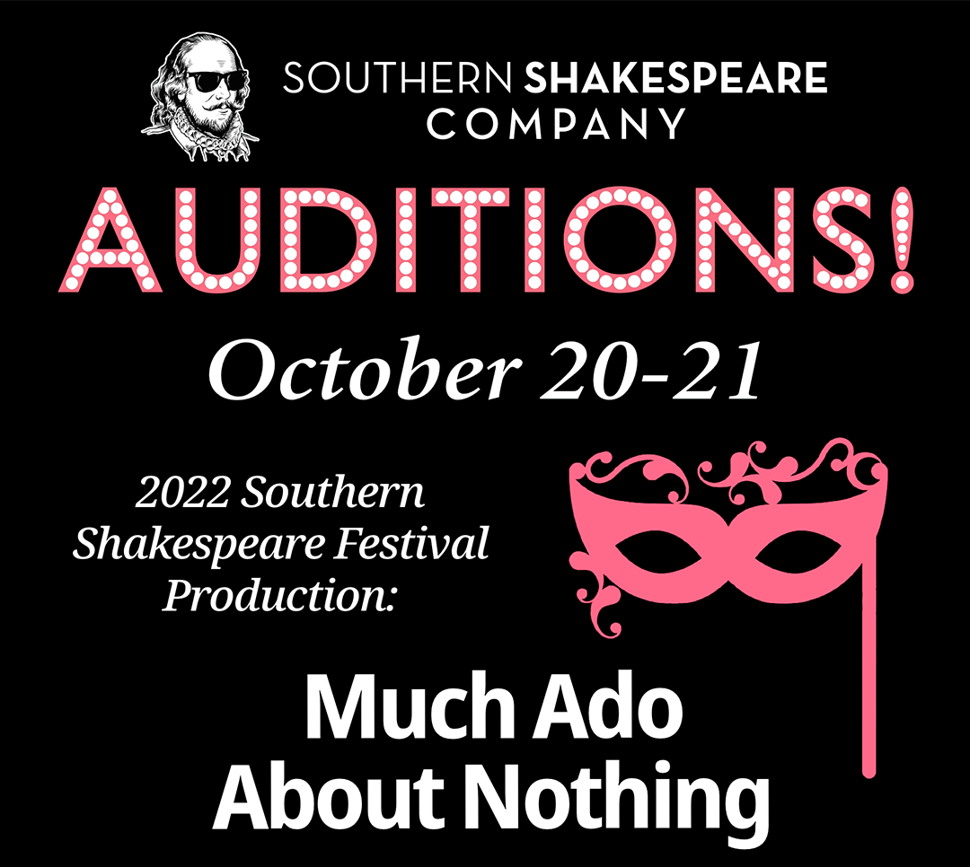 Much Ado About Nothing Auditions